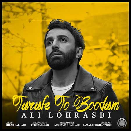 Ali Lohrasbi Tarafe To Boodam - دانلود آهنگ جدید علی لهراسبی به نام طرف تو بودم